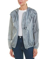 RED Valentino Hooded Jacket - Blue