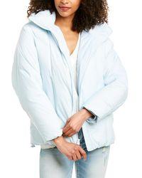 Vince Hooded Puffer Jacket - Blue