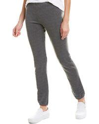 Monrow Studded Sweatpant - Black