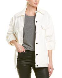Fendi Denim Jacket - White