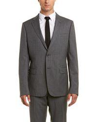 Ermenegildo Zegna Classic Wool Suit - Gray
