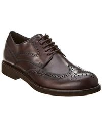 Tod's Leather Oxford - Brown