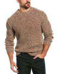 J.Crew Marled Crewneck Sweater - Brown