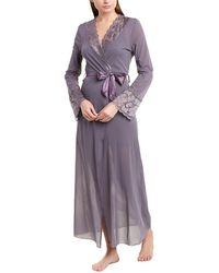 Cosabella Ballet Maxi Robe - Purple