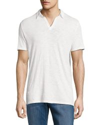 Zadig & Voltaire Jesse Cotton Polo - White