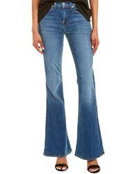 Baldwin Denim Jeans Willow Equinox High-rise Flare Leg - Blue
