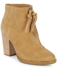 French Connection - Avella Suede Boots - Lyst