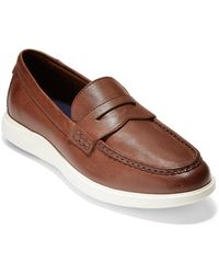Cole Haan Grand Leather Loafer - Brown