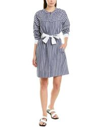 10 Crosby Derek Lam Belted Shirtdress - Blue