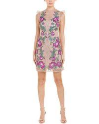 Karen Millen A-line Dress - Brown