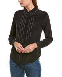 Alexis Silk Shirt - Black
