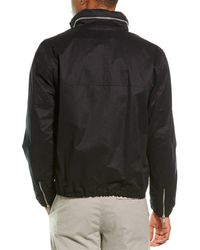 Vince Full-zip Hooded Jacket - Black