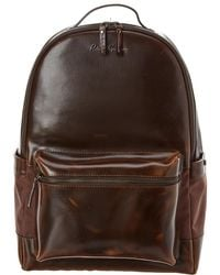 Robert Graham Helio Leather Backpack - Brown