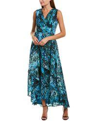 Tahari Tahari Asl Maxi Dress - Blue