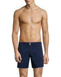 Vilebrequin Merise Solid Swim Trunks - Blue
