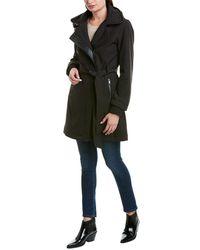 Badgley Mischka Thermotech Coat - Black