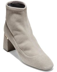 Cole Haan Laree Suede Bootie - Gray