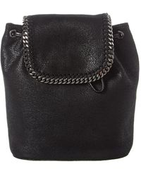 Stella McCartney Falabella Mini Backpack - Black