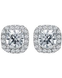 Diana M. Jewels . Fine Jewelry 18k 1.00 Ct. Tw. Diamond Studs - Multicolor