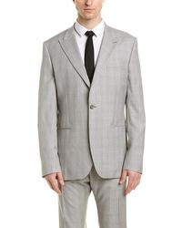 Reiss - Tudor Modern Fit Wool Suit With Flat Front Pant - Lyst