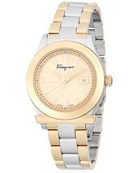Ferragamo - Classic Stainless Steel Bracelet Watch - Lyst