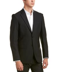Brooks Brothers Madison Fit Wool-blend Jacket - Black