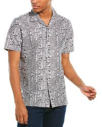 Robert Graham Goliath Classic Fit Woven Shirt - Black