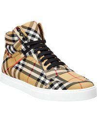 Burberry Canvas Sneaker - Multicolor