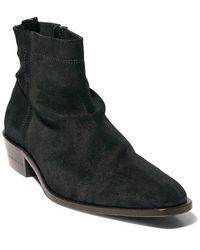 AllSaints Allsaints Harris Suede Boot - Black