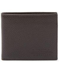 A.Testoni - Leather Bi-fold Wallet - Lyst