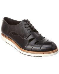 Ferragamo Famoso Leather Oxford - Black