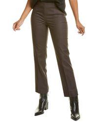 NIC+ZOE Petite Polished Stretch Side Zip Pant - Multicolour
