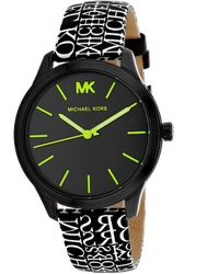 Michael Kors Runway Watch - Black