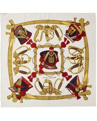 "Hermès ""grand Uniforme,"" By Joachim Metz Silk Scarf - Multicolor"