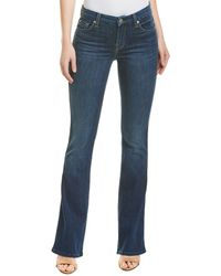 7 For All Mankind 7 For All Mankind Kimmie Midnight Bootcut - Blue