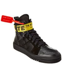 Off-White c/o Virgil Abloh Industrial High-top Trainers - Black