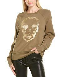 Zadig & Voltaire Upper Skull Mfo Sweatshirt - Green
