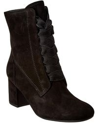 Paul Green Tracy Suede Bootie - Black