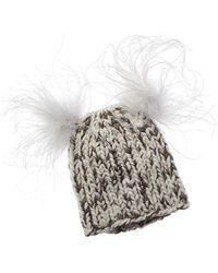 Eugenia Kim Mimi Wool Metallic Hat - Multicolour