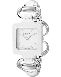 Gucci Women's Leather Watch - Metallic