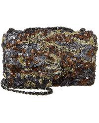 Chanel Limited Edition Multicolour Sequin Half Flap Bag