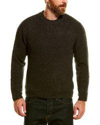 NAADAM Cashmere Crewneck Sweater - Green