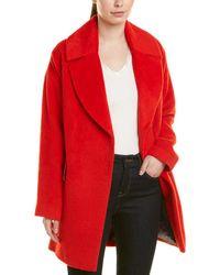 Trina Turk Trina By Ruby Wool & Alpaca-blend Coat - Red