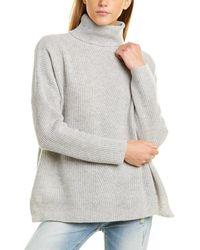 DEMYLEE Harrison Wool Sweater - Gray