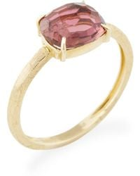 Marco Bicego | 18k Yellow Gold & Pink Tourmaline Murano Ring | Lyst