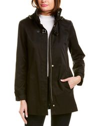 Cole Haan Rain Coat - Black