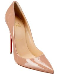Christian Louboutin So Kate 120 Patent Leather Stiletto Court Shoes - Multicolour