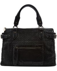 Liebeskind - Kay Woven Leather Satchel - Lyst