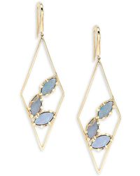 Lana Jewelry - Diamond Prix Opal Drop Earrings - Lyst