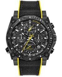 Bulova - Men's Nylon/silicone Watch - Lyst